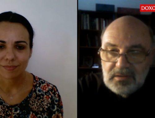 Interviu Doxologia - Anda Elena Pintilie - parintele Dan Badulescu